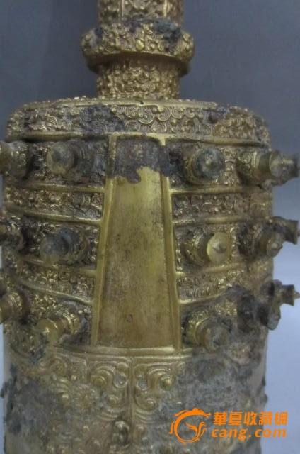 汉代鎏金编钟