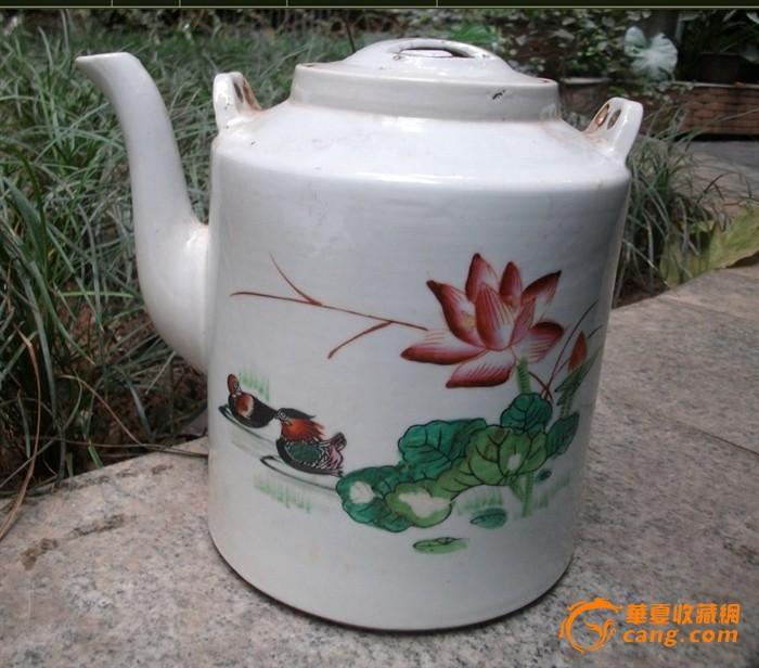 5几年手绘大茶壶包老