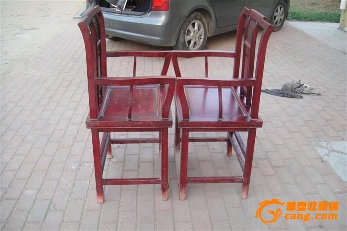 椅子三视图手绘彩色