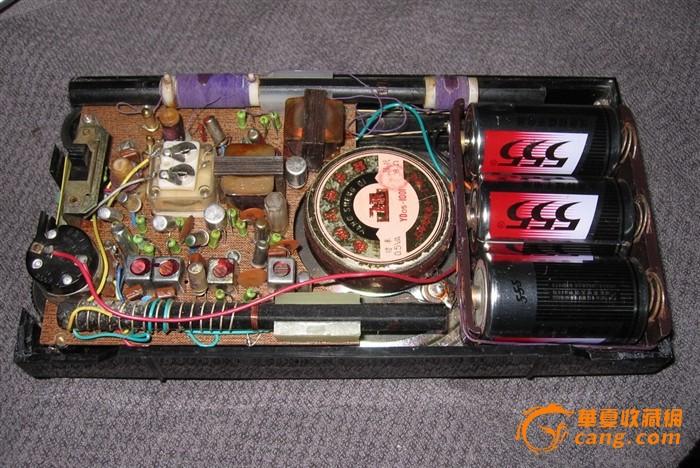 凯歌牌4b15a6管2波段收音机