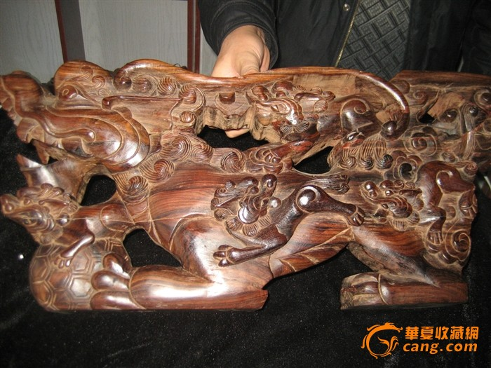 老红木木雕龙 老红木木雕龙价格 老红木木雕龙图片 来自藏友