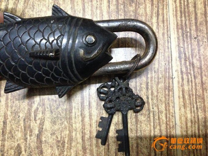 鱼锁怎么用图解