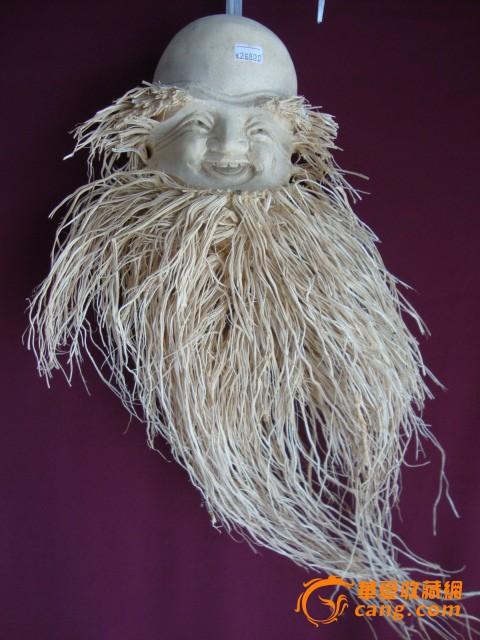 竹根雕 人像图2