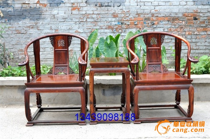 明清家具 老红木 圈椅王