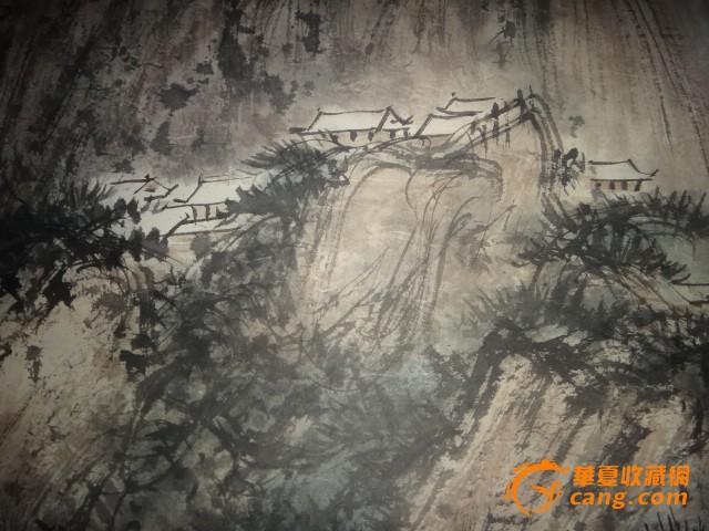 傅抱石-山水画