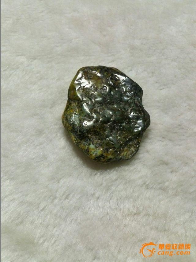 天然玉石岫玉河磨玉原石小块图3