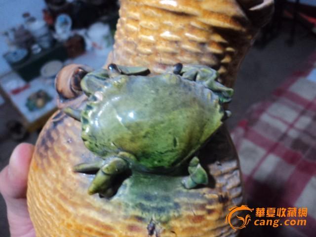 螃蟹海螺鱼篓挂件
