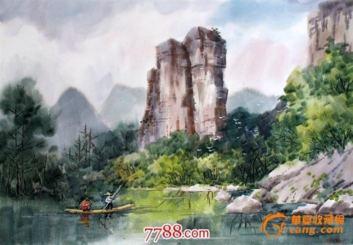 风景画作品  水彩画的水彩画大师及名家答:中国:关广志,李剑晨,潘思同