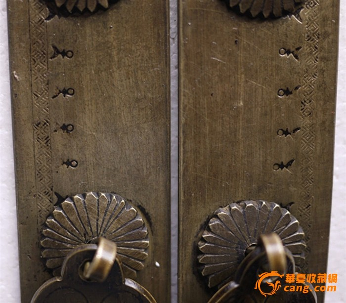 大衣柜门铜把手