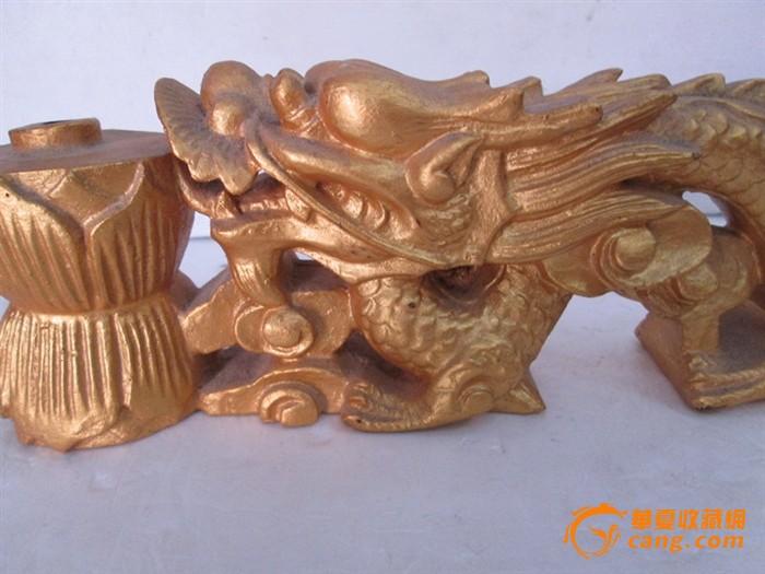 木雕龙佛具