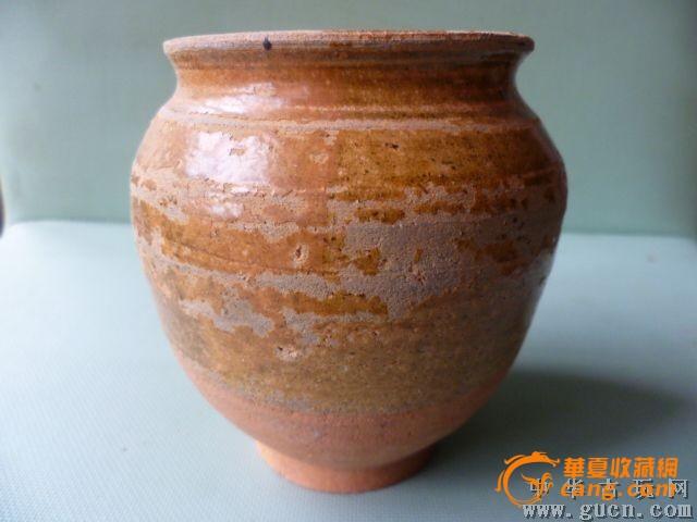 陶罐花瓶手绘粗糙