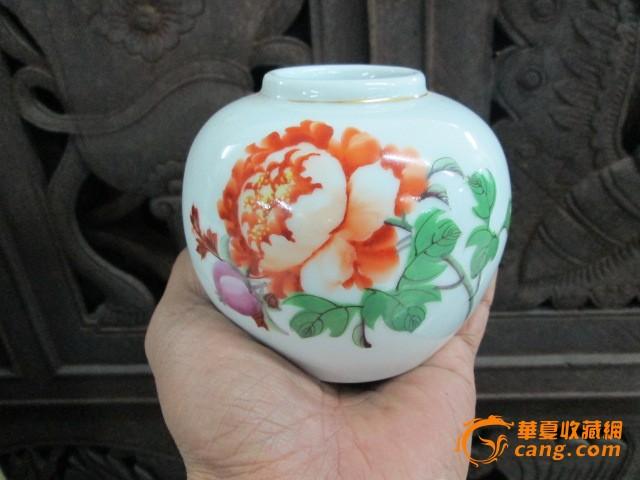 手绘茶叶小罐