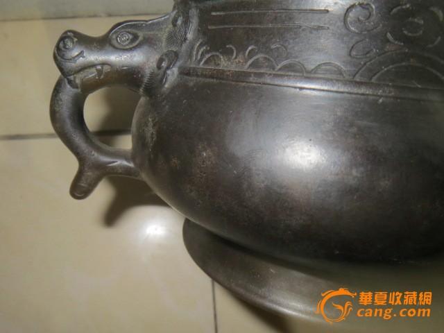 大明宣德铜香炉