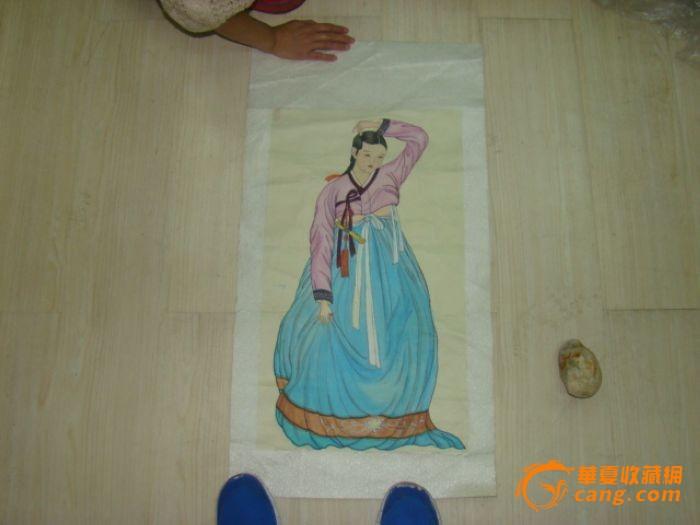 朝鲜人物画