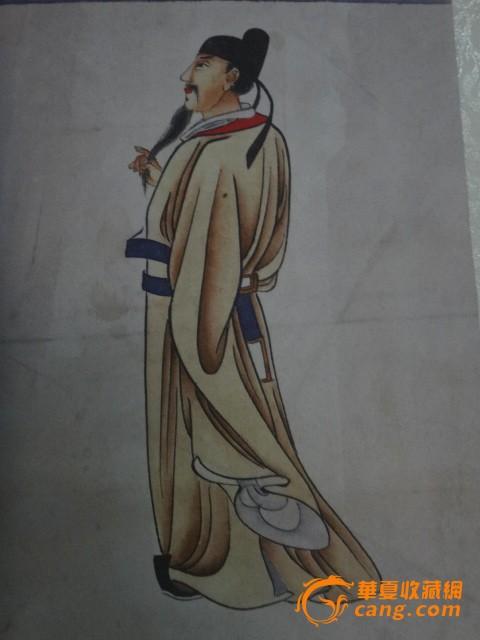 近代画家,陈云璋,人物画