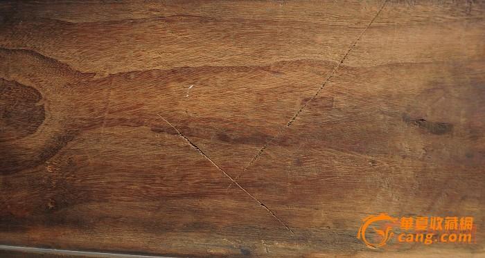 清中期楠木高浮雕故事人物花板