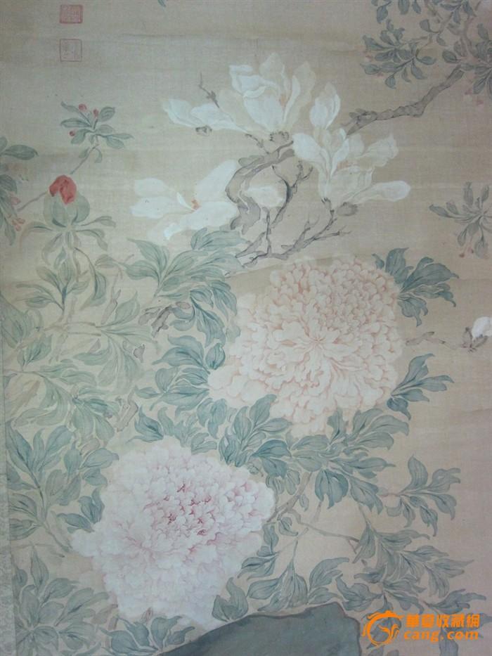 法式花鸟墙纸贴图素材