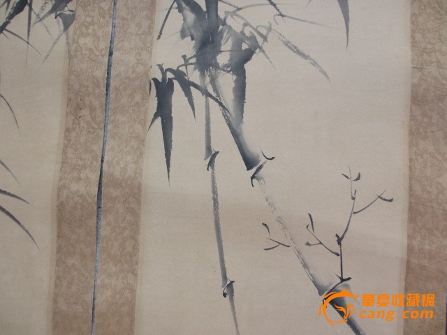 竹子4条屏