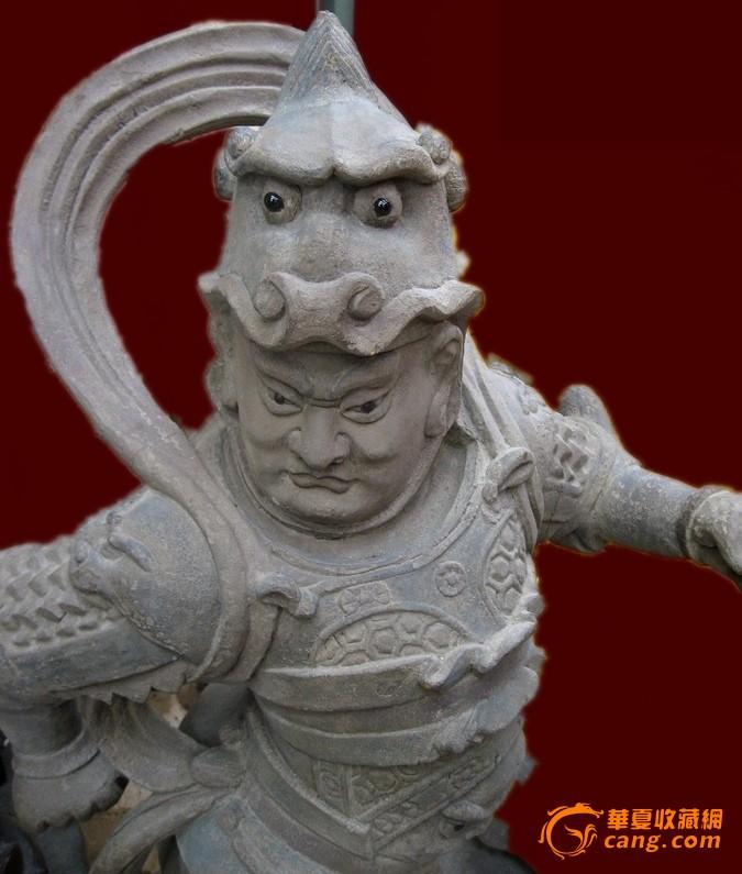 木雕佛像护法天尊图3