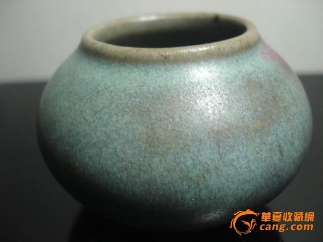 清 窑变釉水孟图4