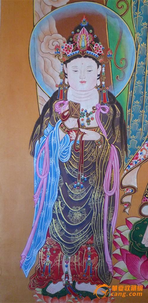 古代陶瓷佛祖头像