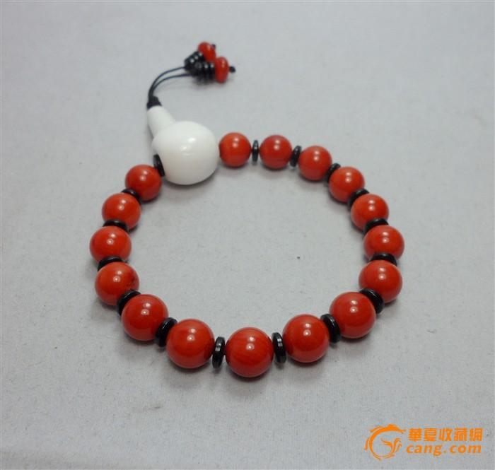 天然红珊瑚价格_漂亮的红珊瑚佛珠手串!搭配白 ...