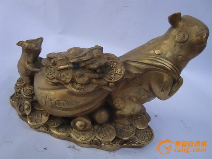 铜器招财鼠