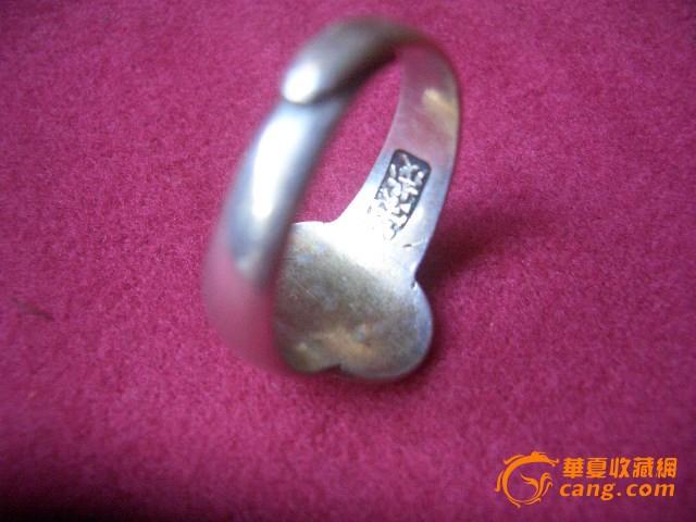 漂亮的银戒指图2