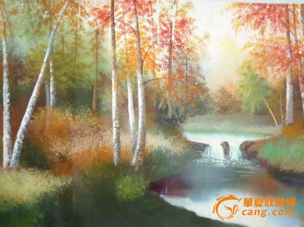 我想买两幅欧式风景油画名家的临摹.