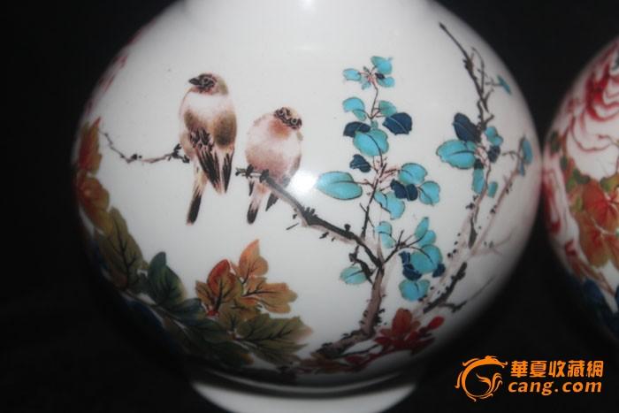 河北唐山瓷,,手绘
