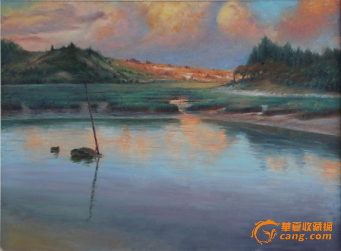 馬強優秀風景油畫作品