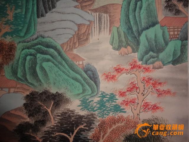 张大千-山水画图片