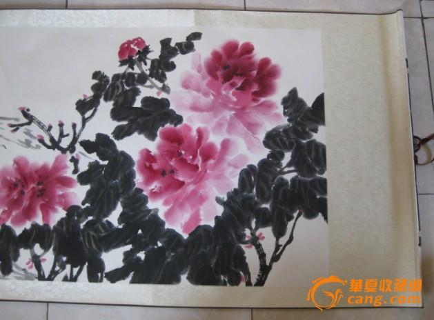 安徽八十六岁著名老画家,郑正~水墨画~国色国香,图图片