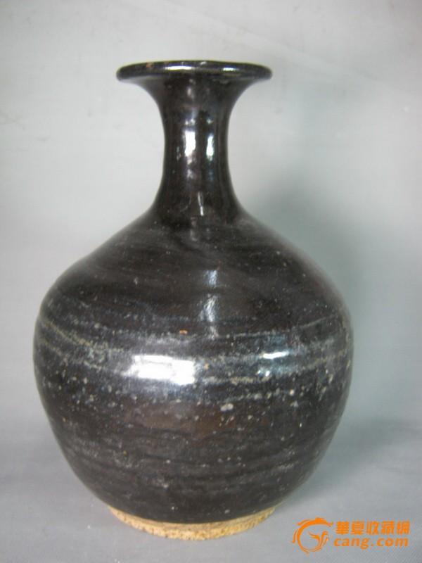 宋代黑釉花瓶图2