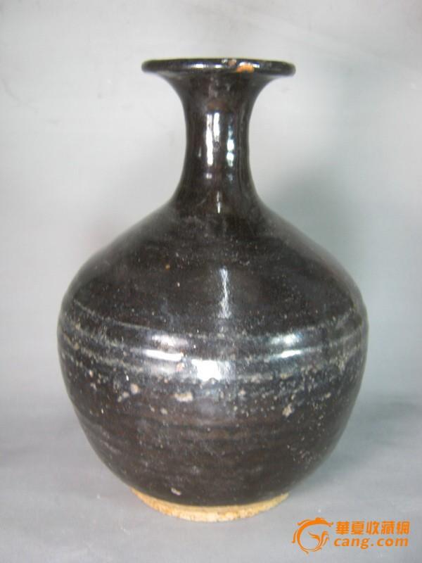 宋代黑釉花瓶图3