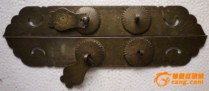 衣柜门铜拉手
