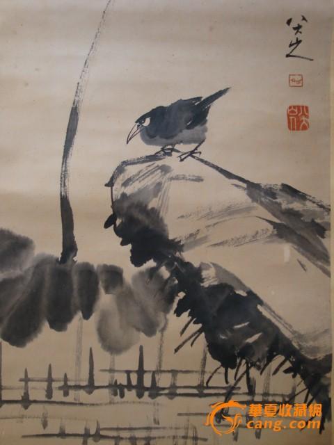 八大山人-立轴-花鸟图2图片