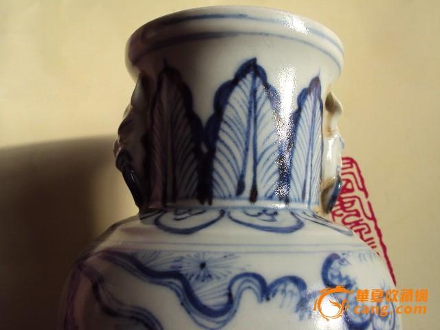 青花瓷瓶图片