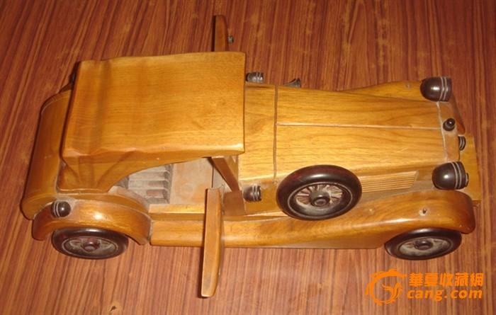 g-p015仿古老爷车3结构图木质