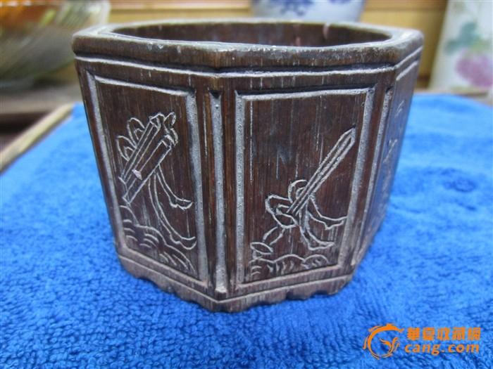 竹雕文房用盒图1