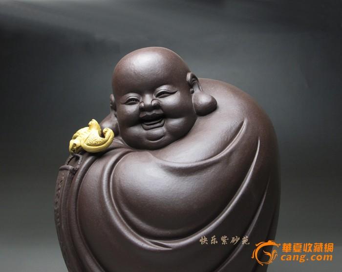 祝福 精品紫砂雕塑摆件 沈卫国 宜兴紫砂壶 名家茶具吉祥茶宠