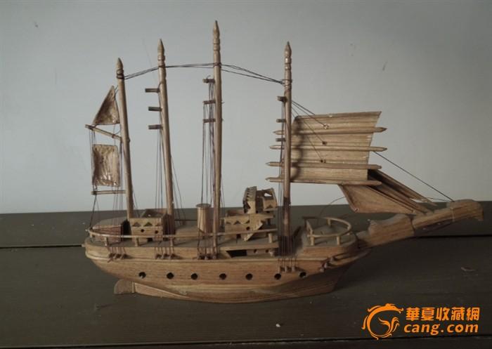 硬纸板制作海盗船图纸图片