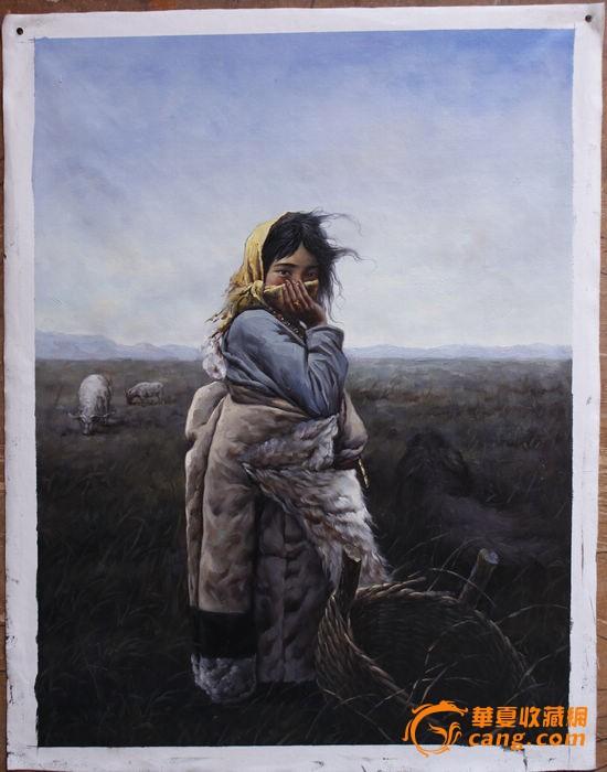 刚完成的油画--西藏风情系列【2】