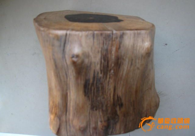 黑檀原木根雕底座