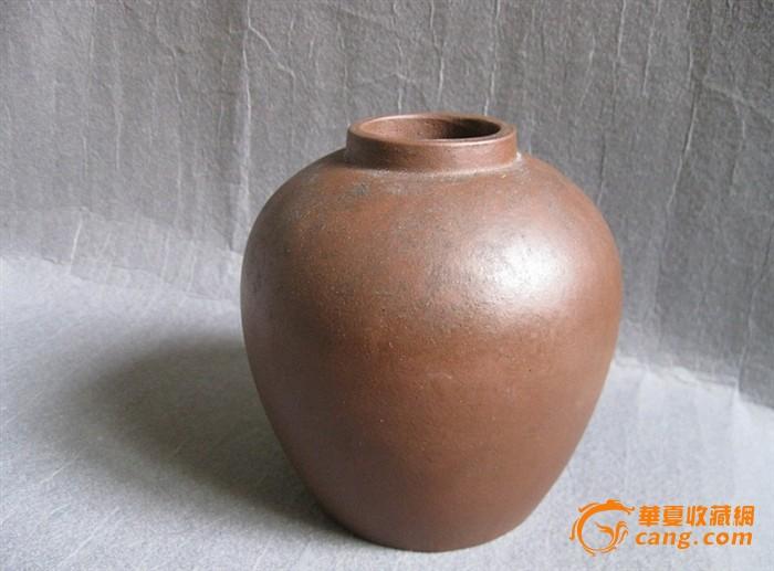 珍稀的大开门王南林制紫砂茶叶罐图片