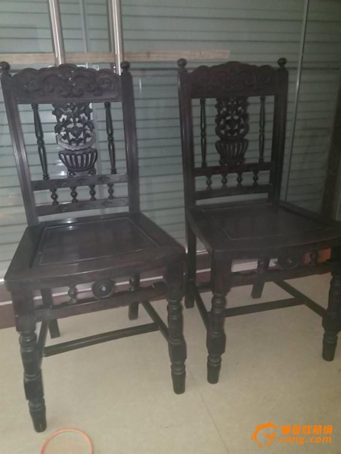 民国红木椅子一对_民国红木椅子一对价格