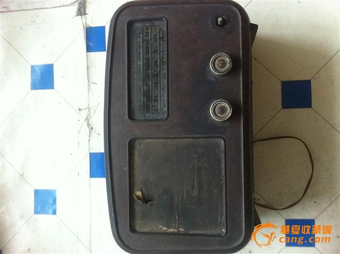 出一台老红星电子管收音机