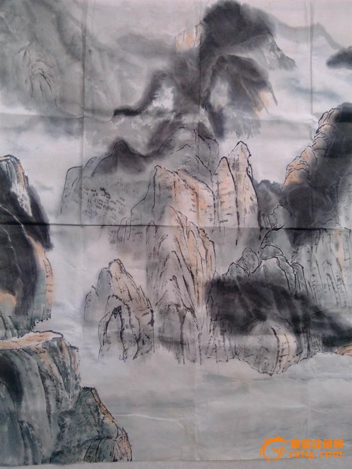 中国名家画三峡山水分享展示