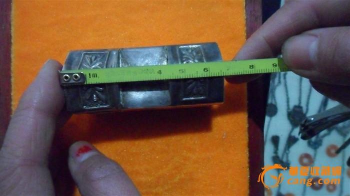 人物带字方形银锁_人物带字方形银锁价格_人