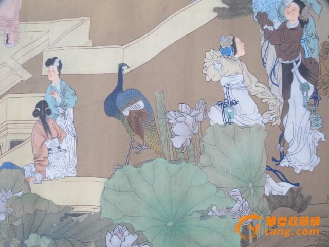 伯年群仙祝寿图